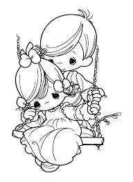 Precious Moments Christmas Coloring Book Plus Precious Moments