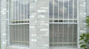 window security bars types and cost