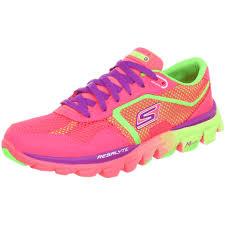 skechers running shoes. women\u0027s neon running shoes | skechers go run ride ultra oxford