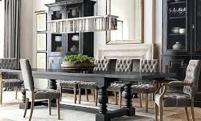 textured linen dry fog restoration hardware dining room chairs outdoor table and