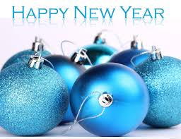 happy new year awesome globes 2018
