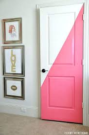 Bedroom Door Decorations Cool Decorating Ideas Diagonal Painted