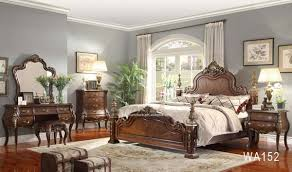 white traditional bedroom furniture. King White Leather Poster Canopy Bed 5pc Traditional Bedroom Furniture Set Chest WA149