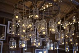 mason jar candle chandelier diy