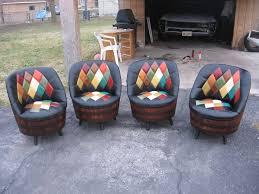 impressive modest vintage barrel chairs interior vintage whiskey barrel chairs 9 best trunk creations