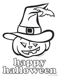 Happy Halloween Coloring Pages Coloring For Kids 2019