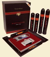paras havana her cuban cigar gift pack ashtray lighter cutter