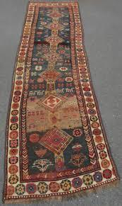 antique country house shabby chic persian kurdish caucasian rug runner