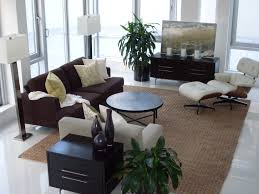 Living Room With Black Furniture Brown And Black Furniture Zampco