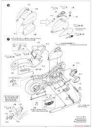 Honda steed 400vse w custom parts model car assembly guide10