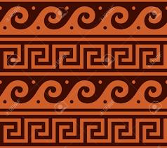 Greek Pattern Vector Seamless Design ...