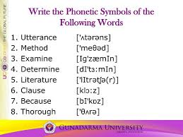 Add ${headword} to one of your lists below, or create a new one. Ppt Write The Phonetic Symbols Of The Following Words Powerpoint Presentation Id 2622070