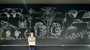 blackboard wall wall art chalkboard art ideas blackboard wall create a free website chalk for fall