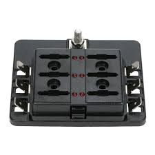 best 6 way 12 fuses blade fuse box sale online shopping cafago com fuse box for sale 2001 w900 kenworth 6 way 12 fuses blade fuse box holder