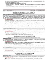 jerry james supply chain manager resume 2 for