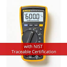 Fluke Tester Comparison Chart Fluke 115 Nist Handheld Multimeter Type Digital Style