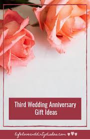 third wedding anniversary tips to