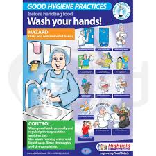 Food Hygiene Poster When To Wash Your Hands Poster Food Safety Direct