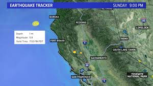 The last bay area earthquake that was higher than 4.4 magnitude occurred on aug. 5 8 Magnitude Earthquake Off California S North Coast Felt In Bay Area Abc10 Com
