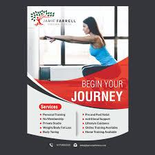 Fitness Program Design Personal Trainers Upmarket Bold Personal Trainer Flyer Design For Jamie