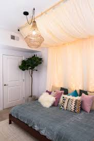 Romantic DIY Bed Canopies (on a Budget!) • The Budget Decorator