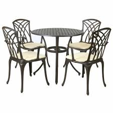 metal patio garden furniture sets for