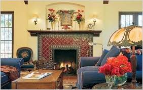 spanish style fireplace the spanish style fireplace a rich colorful heritage from mexican living room decor