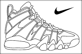 Small Picture Basketball Jordan Shoe Coloring Pages Now Color Own Shoe Color Zini