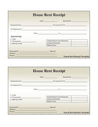 best photos of simple apartment rental bill template  blank bill  house rent receipt template