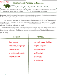 What Do You Call A Fake Chart Answers Realism And Fantasy Lesson Plan Education Com