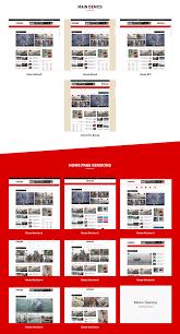 Usnews V1 1 News Magazine Blog Html5 Template