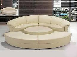 Creativity Round Sectional Sofa Bed U And Modern Ideas