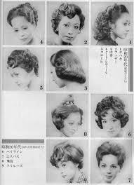昭和時代の流行ヘアスタイルそういえばこんな髪型だった