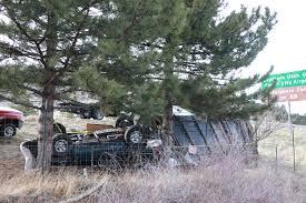SUV hauling trailer overturns on I-15 near Cedar City – Cedar City News