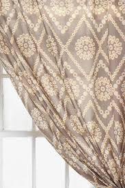 plum bow two tone eyelet curtain i urban outers