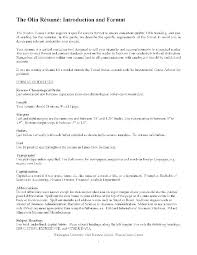 Sample Resume Chronological Format Chronological Format Resume ...