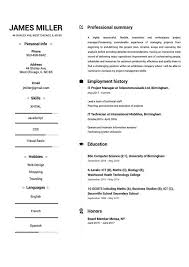 My Resume Extraordinary Online Resume Builder