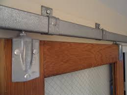 image of sliding barn door track system
