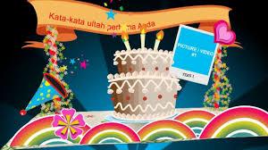 happy birthday video gift