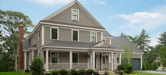 Farmhouse Painted In Gray Benjamin Moore Exterior Paint