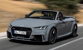 First Drive: 2018 Audi TT RS roadster – Review – Car and Driver