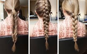 easy braid tutorials basic braids