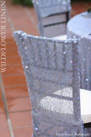 sequin chair covers
