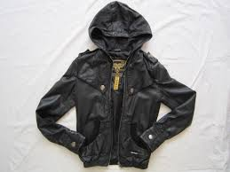 this is my black leather jacket the zip is broken it retails for over 300 aud