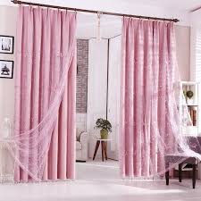 impressive thick thermal curtains decorating with pink polyester thermal blackout insulated curtains no sheer pieces