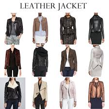 if you re ever in need of a quick rocker chic fix look no further than a leather jacket you can throw it over a dress or pair it with jeans and it