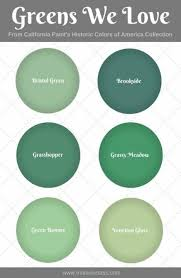 California Paint Color Chart House Interior Green Paint Colors 30 Ideas House Love In