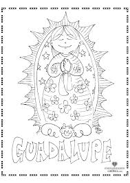 Lady Of Guadalupe Coloring Pages