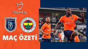 Başakşehir 2-0 Fenerbahçe Maç Özeti   Süp