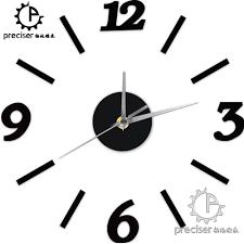 digital office wall clocks digital. Wholesale Arabic Number Digital Wall Clock Modern Diy Self Adhensive Quartz Kitchen Living Room Decorative Office Clocks Old L